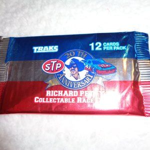 3/$15 Richard Petty Collectable Race Cards